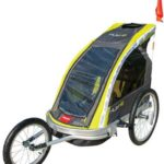 Allen Sports Premier Aluminum 2-Child Racing Bike Trailer Jogger