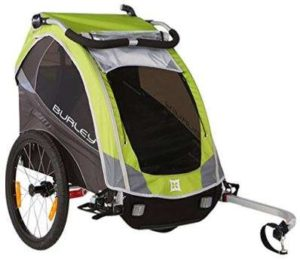 Burley Solo Bike Trailer for Kids - Green