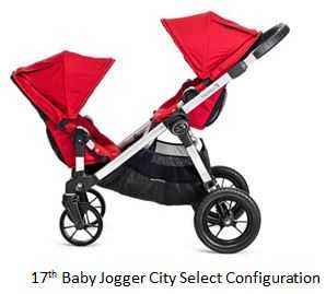 The 17th Configuration of Baby Jogger City Select