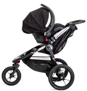 Baby Jogger Summit X3 Single with Infant Car Seat