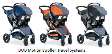 BOB Motion Travel System in 3 Colors