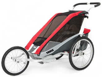 Chariot Cougar 2 in Jogging Mode