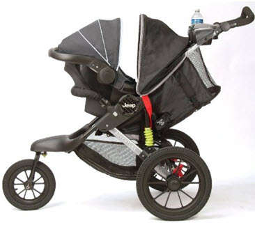 jeep adventure jogging stroller the full review. Black Bedroom Furniture Sets. Home Design Ideas