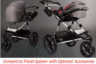 Mountain Buggy Terrain Stroller Travel System